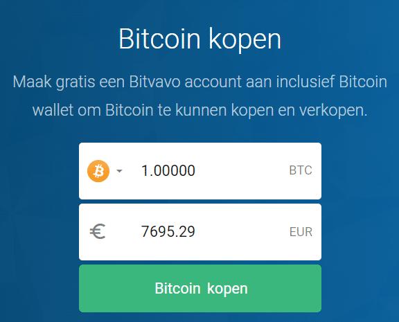 Bitvavo review Bitcoin kopen