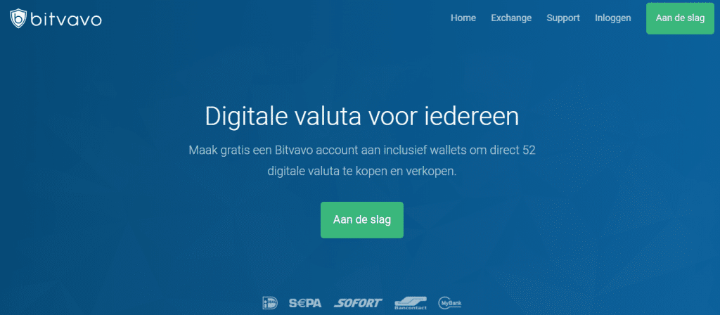 Bitvavo review website