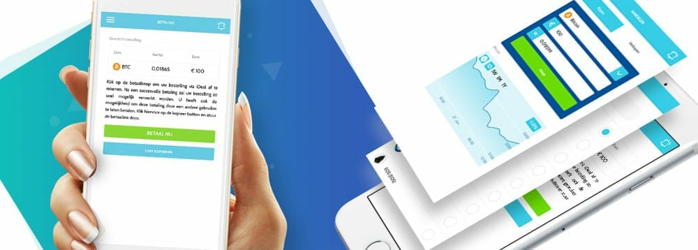 Coinmerce mobiele app